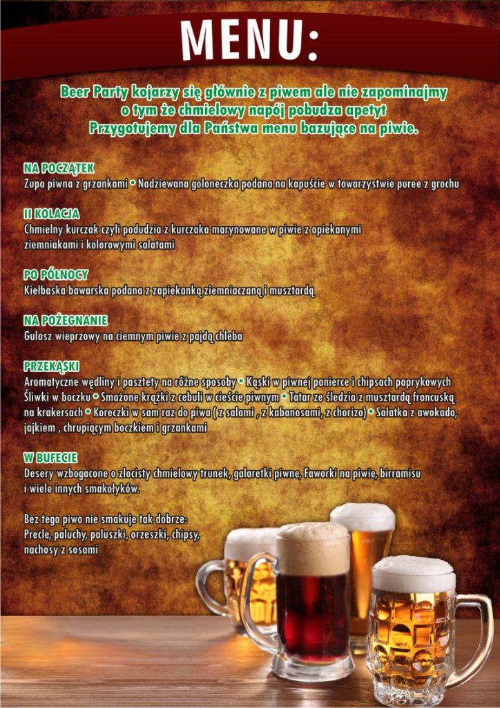 1Menu_A3_Beer Party_SOSNOWE_UROCZYSKO